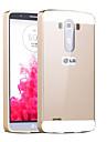 Pour Coque LG Plaqué Coque Coque Arrière Coque Couleur Pleine Dur Acrylique pour LG LG G3