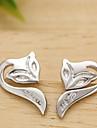 Earring Stud Earrings Jewelry Women Daily / Casual / Sports Sterling Silver / Stainless Steel / Alloy 2pcs Silver