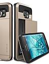 Для Кейс для  Samsung Galaxy Защита от удара Кейс для Задняя крышка Кейс для Один цвет PC Samsung S6 edge / S6