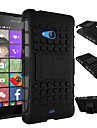 TPU + PC híbrido armadura de borracha resistente ficar casos de capa dura para lum1a 435 / Lumia 535 / Lumia 540 / Lumia 640 / Lumia 640xl