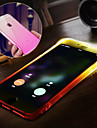 For iPhone X iPhone 8 iPhone 8 Plus iPhone 6 iPhone 6 Plus Case Cover Water Resistant LED Flash Lighting Back Cover Case Color Gradient