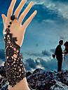 여성 반지 팔찌 고딕 양식의 보석 신부 레이스 화이트 블랙 보석류 용 결혼식 파티 일상 캐쥬얼 크리스마스 선물 1PC