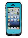 Pour Coque iPhone 5 Imperméable Coque Coque Intégrale Coque Armure Dur Polycarbonate pour iPhone SE/5s/5