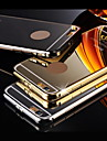 Metallic Plating PC Back Cover for iPhone 6s 6 Plus
