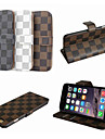 BIG D Lattice Pattern Full Body Case for iPhone 6 Plus(Assorted Color)