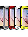 Para Samsung Galaxy Capinhas Impermeavel / Antichoque Capinha Corpo Inteiro Capinha Armadura Metal Samsung S6