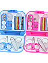 """Travel Sewing KitForTravel Accessories for Emergency Plastic 2.56""""*2.56""""*0.6""""(6.5cm*6.5cm*1.5cm)"""