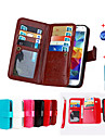 Magnetic 2 in 1 Wallet Leather With Card Slot Case for Galaxy Grand Prime G530/Core Prime G360+Stylus Anti-dust Plug