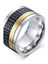남성용 문자 반지 의상 보석 애것(마노) 티타늄 스틸 보석류 제품 결혼식 파티 일상 캐쥬얼 스포츠 크리스마스 선물