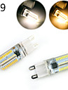 YWXLight® Dimmable G9/G4/E14/BA15D 5W 80 SMD 3014 500 LM Warm White / Cool White LED Corn Lights AC 220 / AC 110 V