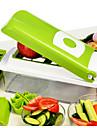 1개 Apple 당근 오렌지 양파 오이 토마토 커터 & 슬라이서 For 과일의 경우 야채에 대한 스테인레스 스틸 멀티기능 고품질 크리 에이 티브 주방 가젯