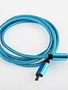 carga rapida usb aluminio cabo de cabo de 2,0 carregador para samsung amartphone android aable aeneral (0,25 m)