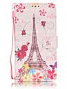 Для Кейс для  Samsung Galaxy Бумажник для карт / Кошелек / со стендом / Флип Кейс для Чехол Кейс для Эйфелева башня МягкийИскусственная