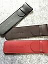 pen caixa de lapis de couro capa protetora para uma caneta