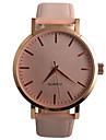 Women\'s Fashion Watch / Quartz PU Band Casual Black Brown Pink Strap Watch