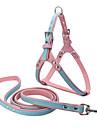Chien Harnais / Laisses Ajustable/Reglable / Fait a la main / Doux Solide Rouge / Blanc / Bleu / Marron / Violet Cuir PU