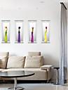 Moda Floral 3D Adesivos de Parede Autocolantes de Avioes para Parede Autocolantes 3D para Parede Autocolantes de Parede Decorativos,Papel