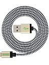 애플 아이폰 7 기가 플러스 / 아이 패드의 USB 동기화 및 충전 케이블에 4피트 (1.2M) MFI 인증 번개를 개척