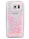 Pour Liquide Transparente Coque Coque Arriere Coque Brillant Dur Polycarbonate pour Samsung S7 edge S7 S6 edge plus S6 edge S6 S5 S4