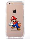 Назначение iPhone X iPhone 8 Чехлы панели Прозрачный С узором Задняя крышка Кейс для Мультипликация Мягкий Термопластик для Apple iPhone