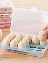 1pcs 15 cocina en blanco nevera huevos almacenamiento caja titular preservacion caja portatil plastico poner huevos caja hogar cocina