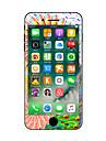 1개 스크래치 방지 꽃장식 투명 플라스틱 바디 스티커 야광 패턴 용 iPhone 7 Plus iPhone 7 iPhone 6s Plus/6 Plus iPhone 6s/6 iPhone SE/5s/5 iPhone 5 iPhone 4/4s