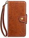 Para iphone 7 7 mais capa de capa porta-carteira carteira com suporte flip caixa de corpo magnetico cheio de cor solida couro duro para