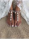 Femme Bracelet de cheville/Bracelet Alliage Mode Fait a la main bijoux de fantaisie Larme Bijoux Pour Quotidien Decontracte