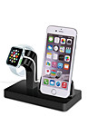 Gbu watch stand para apple watch series 1 2 ipad iphone 7 6 6s mais 5 5s 5c metal stand all-in-1 38mm / 42mm cable nao incluem