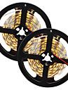 80W Faixas de Luzes LED Flexiveis 7650-7750 lm DC12 V 10 m 300 leds Branco Quente Branco