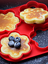 Four Hole Fried Egg Apparatus Pancake Mold Silicone Pancakes With Multiple Models Design Is Random