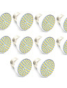 3.5 Spot LED MR16 60 SMD 2835 300 lm Blanc Chaud Blanc Froid Decorative AC 100-240 V 10 pieces