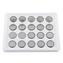 hesapli Aksesuarlar-CR2032 3V Yüksek Kapasiteli Lityum Düğme pil (20 paket)