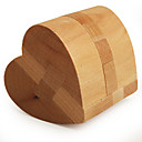cheap Display Models-Wooden Puzzle / IQ Brain Teaser Heart Professional Level / Speed Wooden Classic & Timeless Boys' Gift