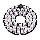 halpa CCTV-järjestelmät-Infrapuna-valaisin 48-LED Illuminator Board Plate for 3.6mm Lens Security Camera varten turvallisuus järjestelmät 6*6*1.5cm 0.015kg