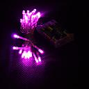hesapli LED Şerit Işıklar-3M Dizili Işıklar 30 LED'ler Dip Led Pembe Parti / Dekorotif / Tatil AA Bataryalar Powered 1pc / IP44