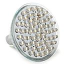 voordelige 2-pins LED-lampen-3W 150-200 lm GU5.3 (MR16) LED-spotlampen MR16 60 leds Dip LED Warm wit AC 12V