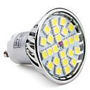 hesapli LED Spot Işıkları-6000lm GU10 LED Spot Işıkları MR16 24 LED Boncuklar SMD 5050 Doğal Beyaz 85-265V