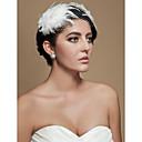 hesapli Saç Takıları-Tül Kristal Kumaş - Tiaras Fascinators 1 Düğün Özel Anlar Parti / Gece Başlık