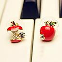 levne Küpeler-Peckové náušnice - Štras Umělé diamanty dámy Na běžné nošení Šperky Červená / Barva obrazovky Pro Párty Výročí Narozeniny Dar