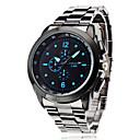 cheap PS3 Accessories-Men's Wrist Watch Quartz Silver Casual Watch Analog Charm Classic - White Black