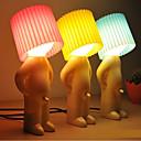 hesapli LED Masa Lambaları-utangaç çocuk tasarım sıcak beyaz led masa lambası (çeşitli renklerde)