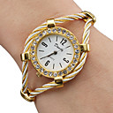 cheap Diecasts & Toy Vehicles-Women's Ladies Fashion Watch Bracelet Watch Diamond Watch Quartz Gold Analog Sparkle Bangle - Gold One Year Battery Life / SSUO 377