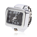 cheap Daytime Running Lights-Women's Ring Watch Square Watch Quartz Silver Casual Watch Ladies Charm - White Black One Year Battery Life / SSUO SR626SW