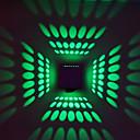 hesapli Duvar Işıkları-Duvar ışığı Ortam Işığı 3W 90-240V Birleştirilmiş LED Modern/Çağdaş Eloktrize Kaplama