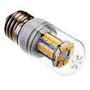 hesapli LED Mısır Işıklar-SENCART 1000lm E26 / E27 LED Mısır Işıklar 24 LED Boncuklar SMD 5060 Sıcak Beyaz 85-265V
