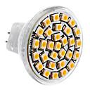 hesapli LED Spot Işıkları-SENCART 3500lm GU4(MR11) LED Spot Işıkları MR11 30 LED Boncuklar SMD 3528 Sıcak Beyaz 12V