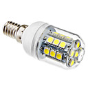 cheap LED Corn Lights-1pc 3 W 5500 lm E14 LED Corn Lights T 27 LED Beads SMD 5050 Natural White 220-240 V