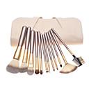 hesapli Makyaj ve Tırnak Bakımı-12pcs Makyaj fırçaları Profesyonel Fırça Setleri Midilli Atı Fırça / Naylon Fırça / At Klasik / Orta Fırça / Küçük Fırça