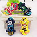cheap Drawing & Writing Instruments-Skateboard Shaped Eraser(2 PCS)